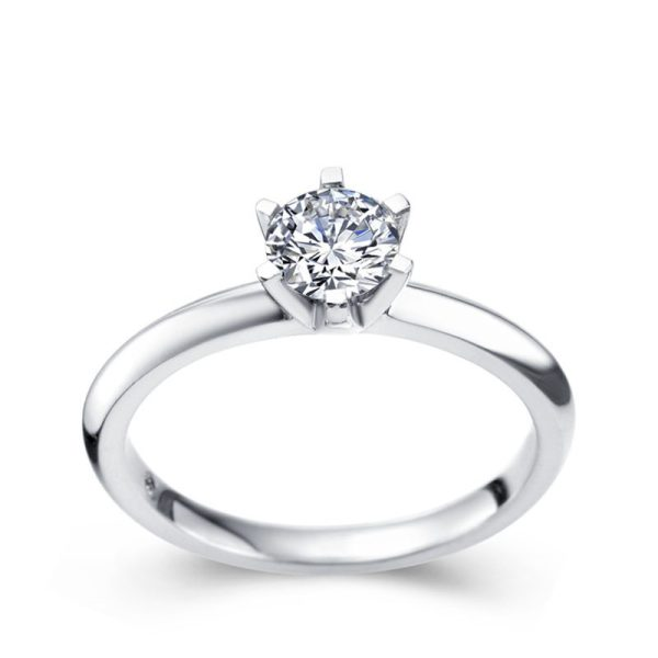 Tiaria Perhiasan cincin emas berlian White Gold 18K Diamond