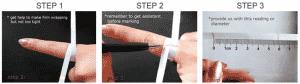 Cara Mengukur Jari Tangan