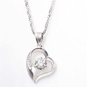 Perhiasan emas berlian white gold 18K diamond DAKADZ003