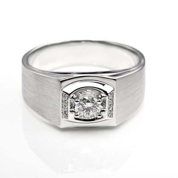 Perhiasan emas berlian white gold 18K diamond DHTXHJZ016