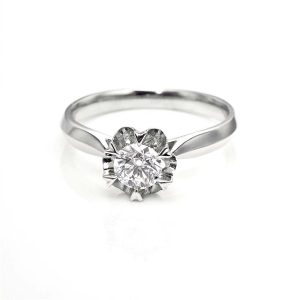 Perhiasan emas berlian white gold 18K diamond DHTXHJZ028
