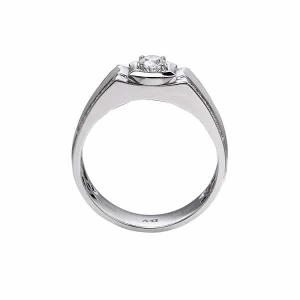 Perhiasan emas berlian white gold 18K diamond DHTXHJZ052