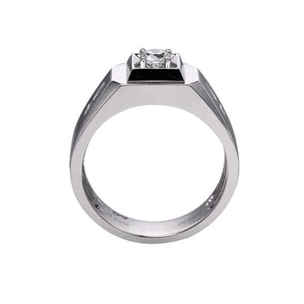Perhiasan emas berlian white gold 18K diamond DHTXHJZ088