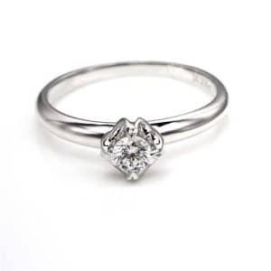 Perhiasan emas berlian white gold 18K diamond DJXJZ004