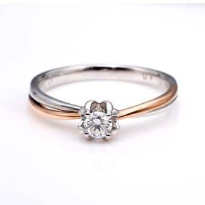 Perhiasan emas berlian white gold 18K diamond DJXJZ029
