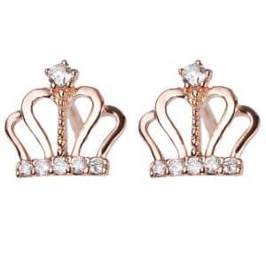 Perhiasan emas berlian white gold 18K diamond DMKMED001
