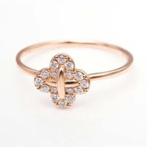 Perhiasan emas berlian white gold 18K diamond DMKMJZ006