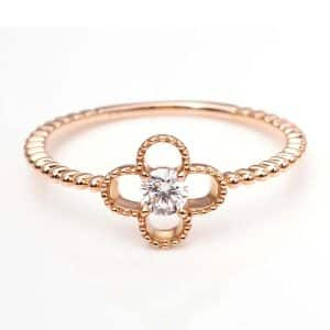 Perhiasan emas berlian white gold 18K diamond DMKMJZ008
