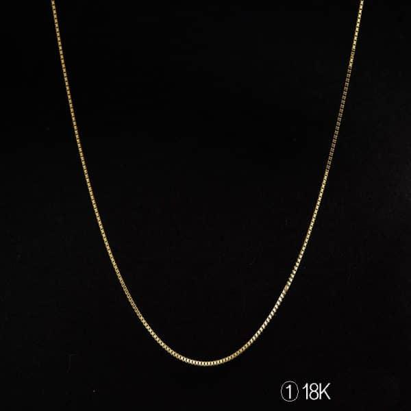 Perhiasan kalung emas white gold Tiaria 18K Gold Necklace Top Design