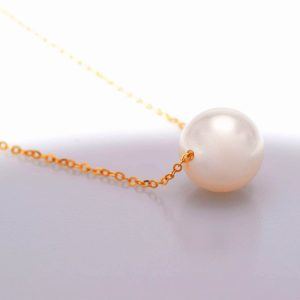 Perhiasan kalung emas gold necklace Pearl on Gold Jewelry Kalung Emas 18K