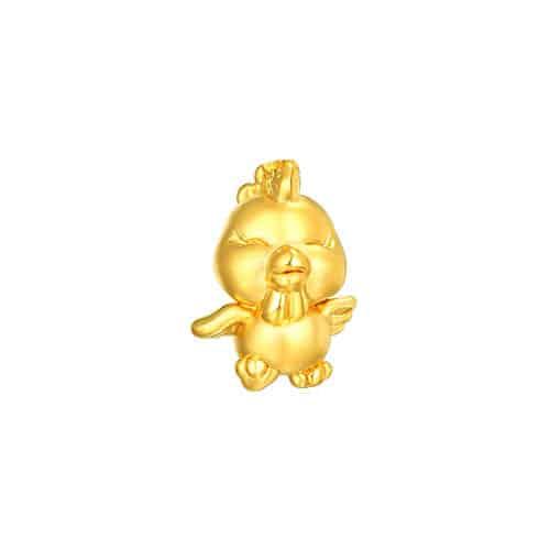 rooster perhiasan emas 24k pendant liontin emas (3)