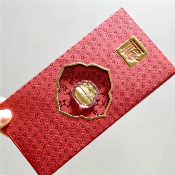 Tiaria Gold bar Rooster year money bowl Perhiasan Emas Batangan Logam Mulia (9)