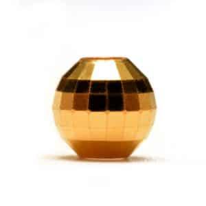 Tiaria 24 K Golden Mirror Ball Charm 0.3 Logam Mulia Liontin Emas 24K (1)
