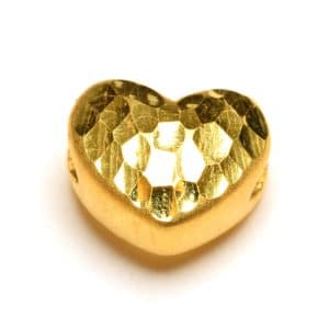 Tiaria 24K Gold Crafted Heart Charm 0.3 Logam Mulia