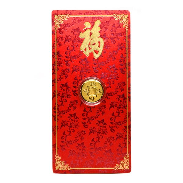 Tiaria 24K Gold Bar Single Coin 0.1g Logam Mulia