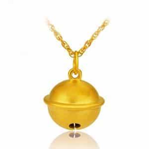 Tiaria 24K Golden Bell Charm 0.5 Logam Mulia 24K (4)