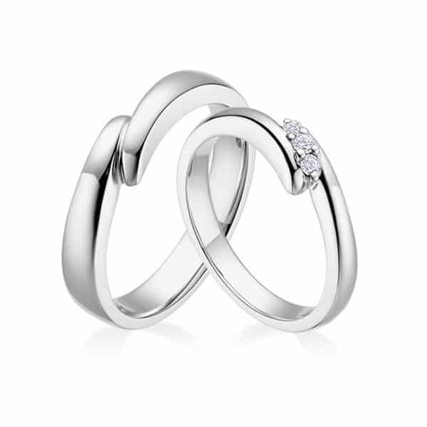 Tiaria 9K Connected Love Ring 1