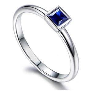 Tiaria 9K Azure Sky Ring