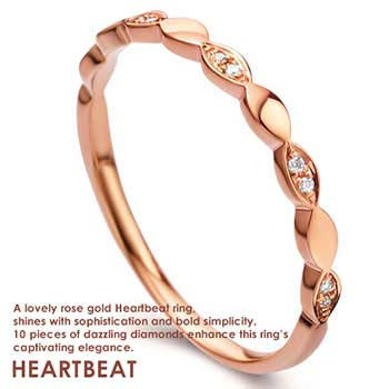 Tiaria Heart beat ring
